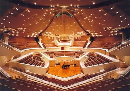Берлинская филармония - зал