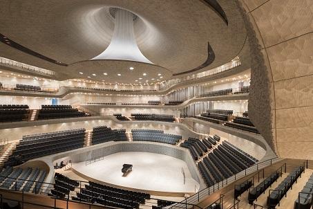 Эльбская филармония / Elbphilharmonie - зал