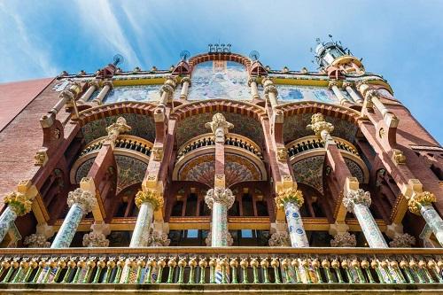 Дворец каталонской музыки / Palau de la Musica Catalana