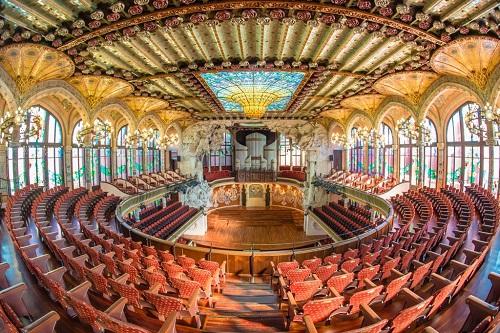 Дворец каталонской музыки / Palau de la Musica Catalana - зал