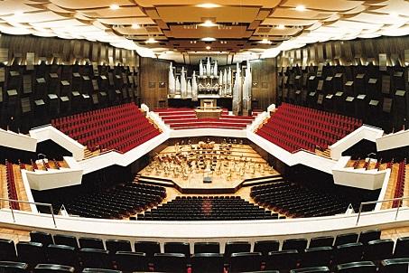 Концертный зал Гевандхауз / Gewandhaus - зал