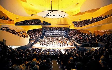 Парижская филармония / Philharmonie de Paris - зал