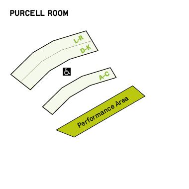 Саутбэнк-центр - схема Комнаты Пёрселла
