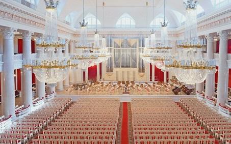 Санкт-Петербургская академическая филармония - зал