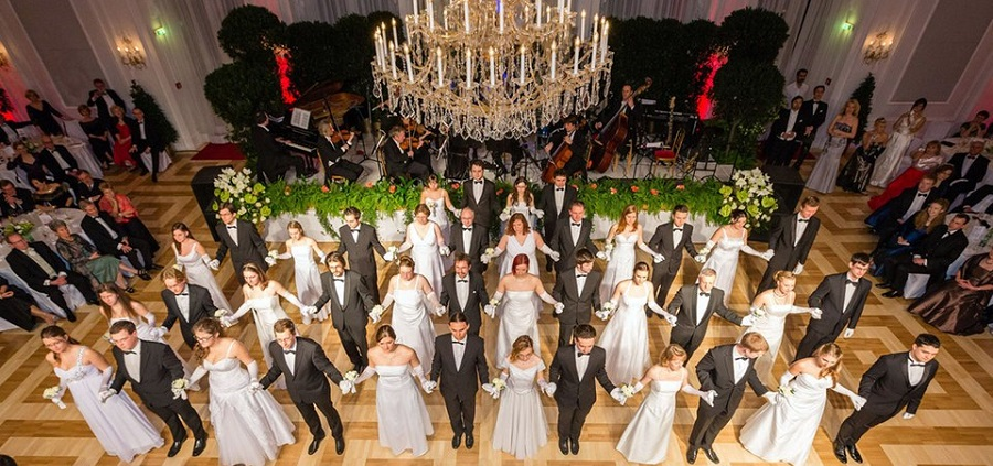 Бал Иоганна Штрауса / Johann Strauss Ball im Kursalon