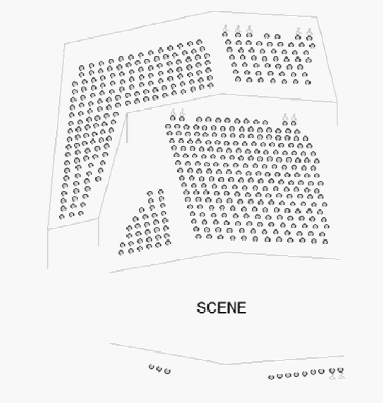 Экс-ан-Прованский оперный фестиваль. Схема AUDITORIUM CAMPRA, CONSERVATOIRE DARIUS MILHAUD