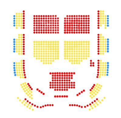 Схема зала Анненкирхе
