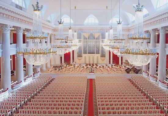 Международный зимний фестиваль Площадь Искусств - Большой зал Санкт-Петербургской филармонии