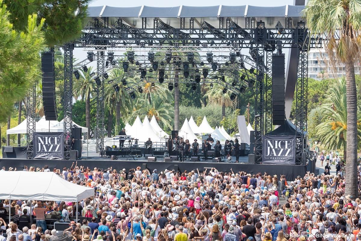 Джазовый фестиваль в Ницце / Nice Jazz Festival