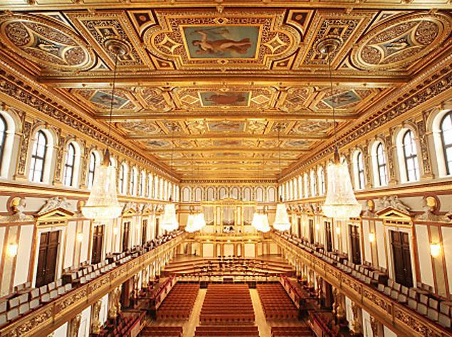 Большой зал Венской филармонии