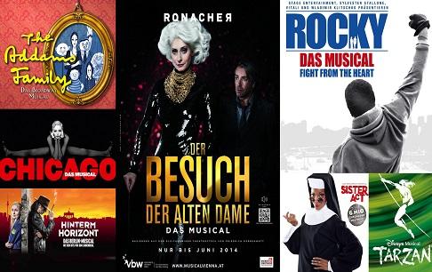 Мюзиклы Германии и Австрии