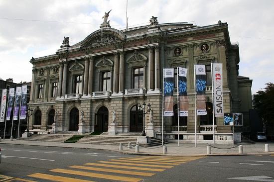 Женевский Большой театр / Grand Théâtre de Genève