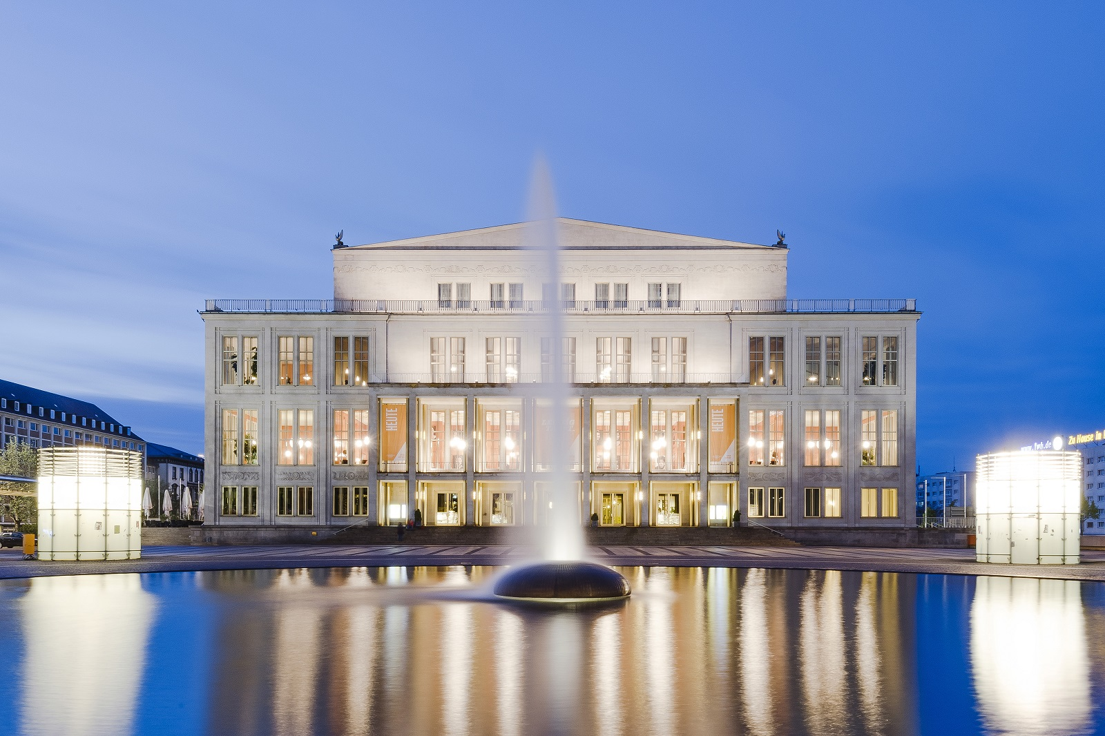 Лейпцигская опера / Oper Leipzig