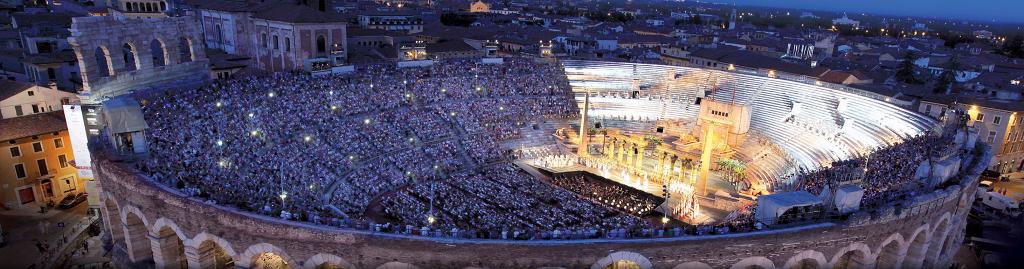 Арена ди Верона / Arena di Verona панорама