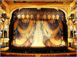 Мариинский театр, занавес
