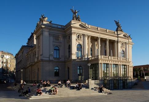 Цюрихский оперный театр / Opernhaus Zurich