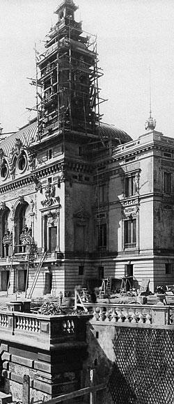 Опера Монте-Карло / Opera de Monte-Carlo - строительство