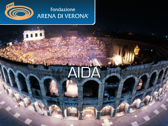 Опера Аида на фестивале Арена ди Верона