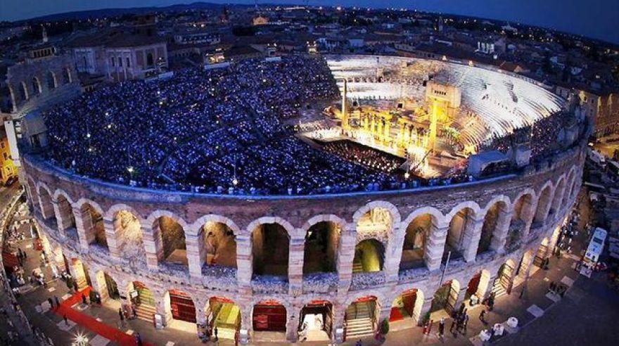 Древнеримский амфитеатр Вероны