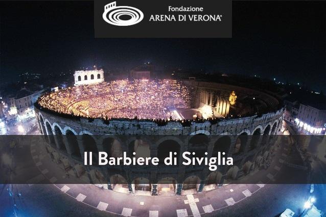 Опера Севильский цирюльник на фестивале Арена ди Верона