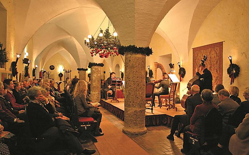 Новый год в Зальцбурге
