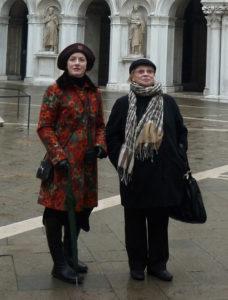 Алла Борисовна Покровская и Вера Воронкова