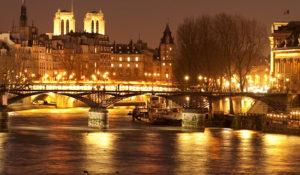Вечерний Париж и круиз по Сене