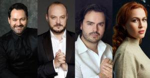 Ильдар Абдразаков, Елена Стихина, Василий Ладюк и Владислав Сулимский