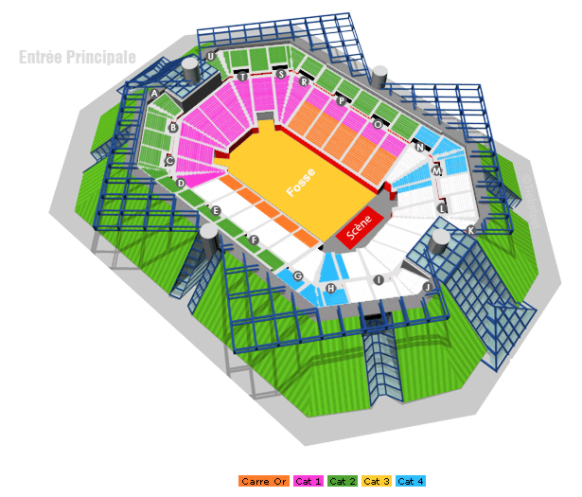 Аккорхотелс Арена / AccorHotels Arena / Франция, Париж