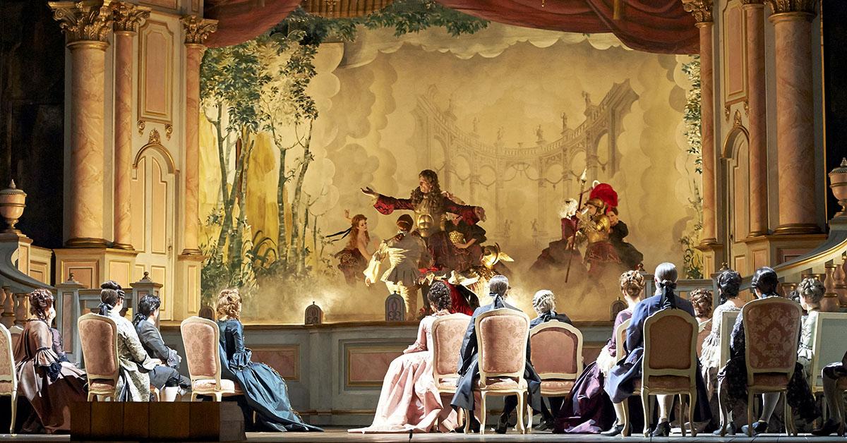 Опера Адриана Лекуврер, Венская опера
