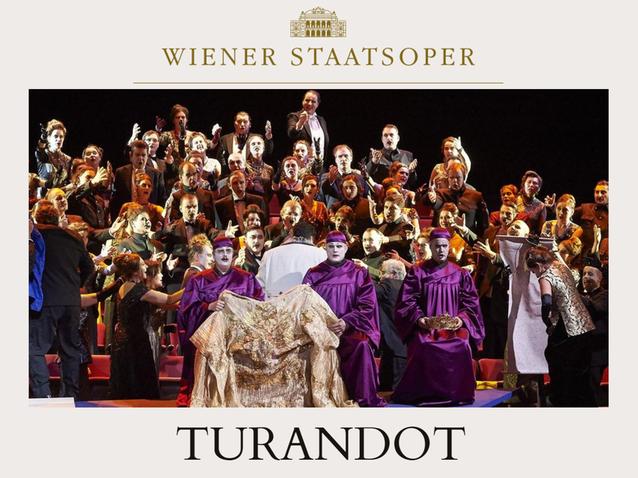 Опера Турандот в Венской опере