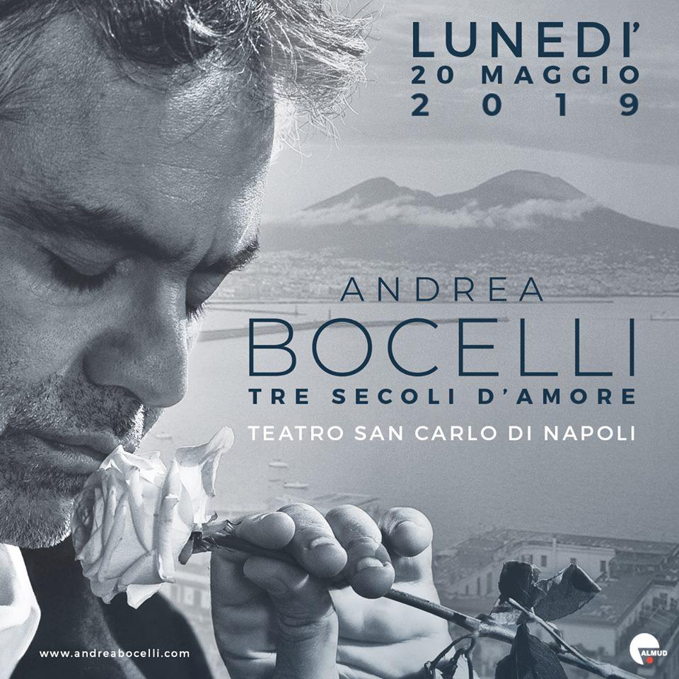 концерт Андреа Бочелли в театре Сан-Карло