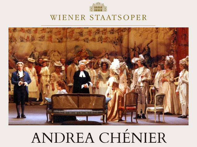 Опера Андре Шенье в Венской опере