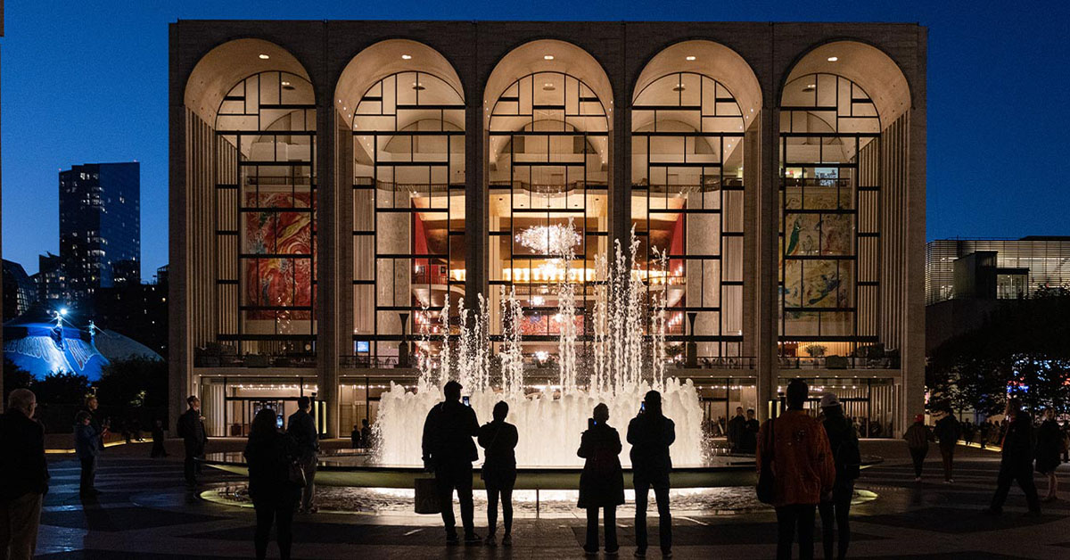 Гала-концерт «The At-Home Gala» - Метрополитен-Опера