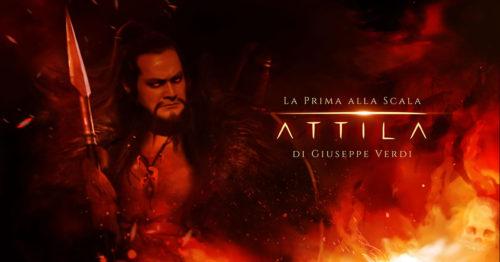 Опера Аттила, театр Ла Скала