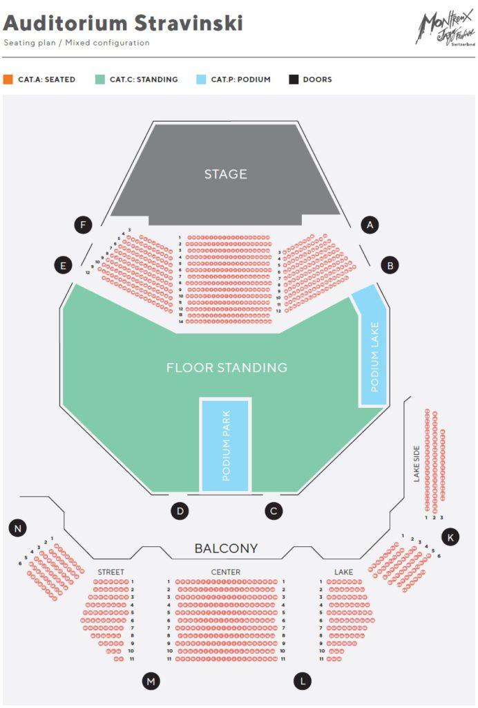 Аудитория Стравинского (Auditorium Stravinski)