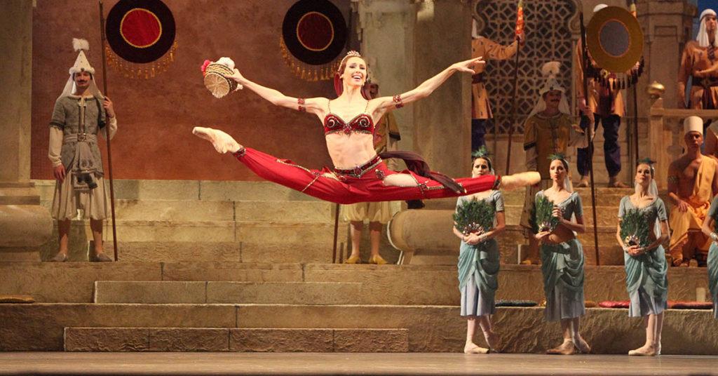 Балет Баядерка, Большой театр