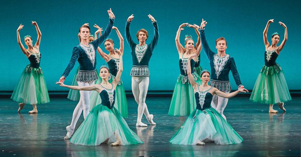 Балет Драгоценности, Большой театр