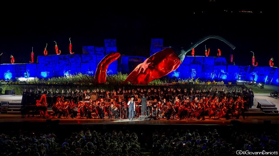 концерт Андреа Бочелли в Лаятико