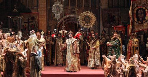 Опера Борис Годунов, Большой театр