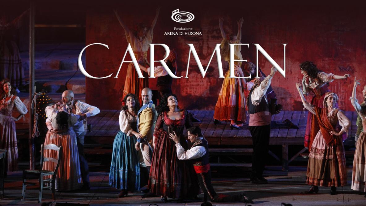 Опера кармен на фестивале Арена ди Верона