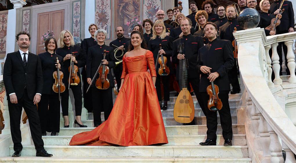 Чечилия Бартоли и барочный оркестр