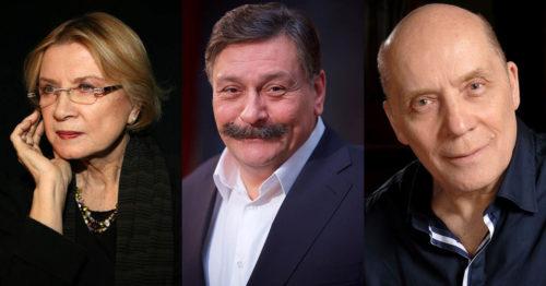 Алла Демидова, Дмитрий Назаров и Александр Филиппенко
