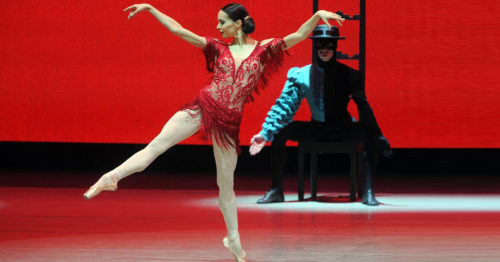 Диана Вишнева в балете Кармен – сюита, Мариинский театр