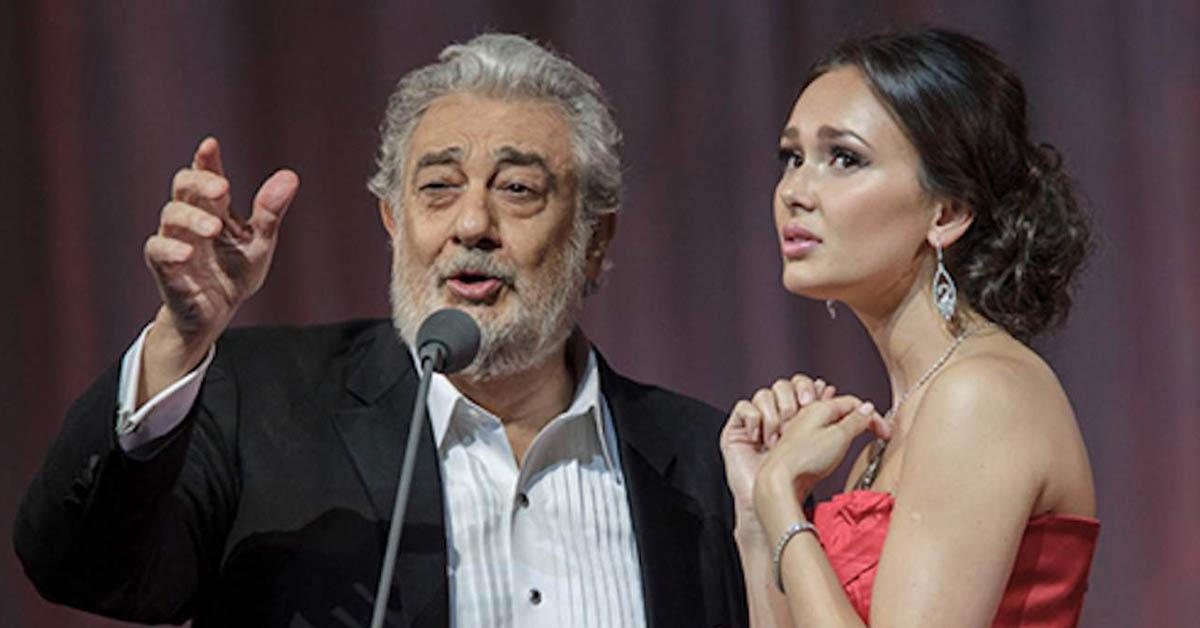 Аида Гарифуллина и Пласидо Доминго
