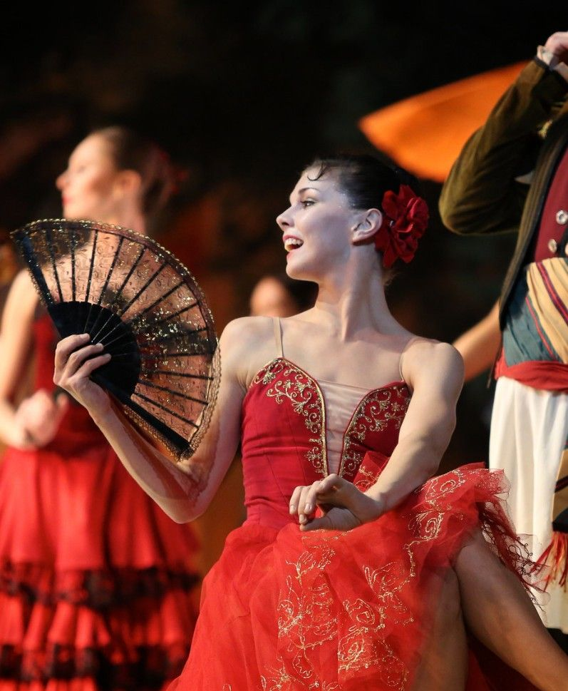 Наталья Осипова в балете Дон Кихот