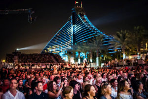 Концертный зал Events Arena в Jumeirah Beach Hotel / ОАЭ, Дубай