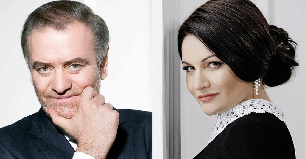 Хибла Герзмава и Валерий Гергиев