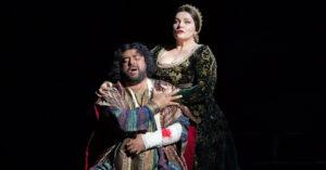 Хибла Герзмава в премьере оперы Отелло