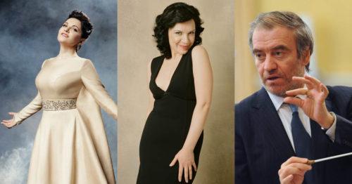 Хибла Герзмава, Екатерина Семенчук и Валерий Гергиев
